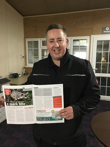 High Wycombe pest controller Marcus Gillis